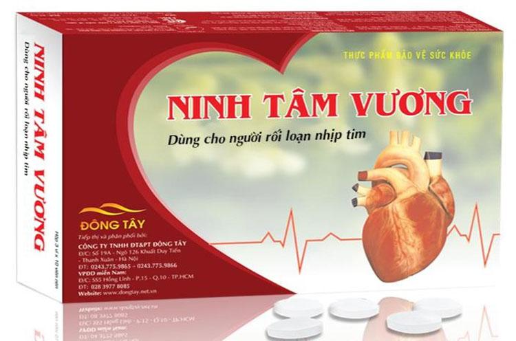 Tpbvsk Ninh Tâm Vương phù hợp với người bị rối loạn nhịp tim