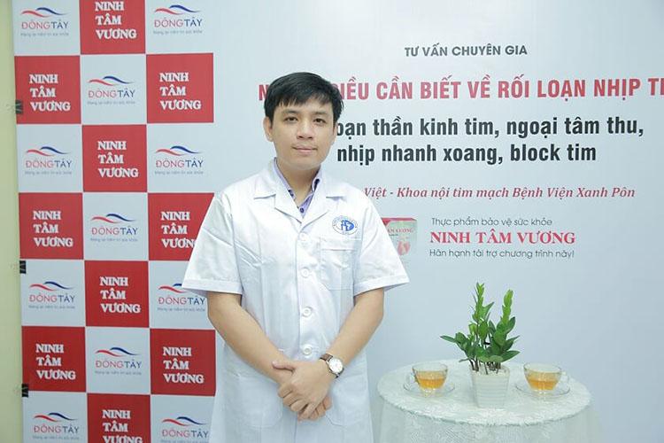 Bác sỹ Lê Đức Việt tư vấn bệnh tim đập nhanh và cách chữa trị