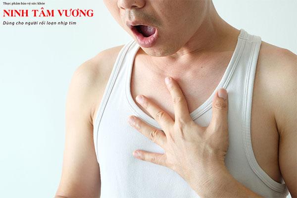 Đau ngực, hồi hộp, đánh trống ngực, khó thở… là một trong những biểu hiện của rối loạn thần kinh tim