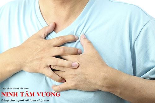 Người bệnh có triệu chứng tim bỏ nhịp, hụt hẫng, đánh trống ngực khi mắc ngoại tâm thu