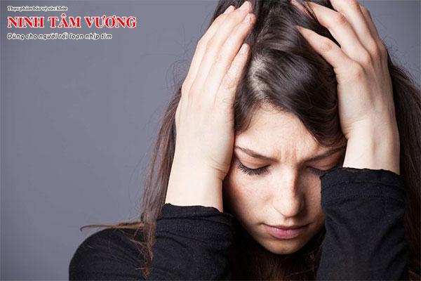 Sự sợ hãi là nguyên nhân gây ra các triệu chứng rối loạn thần kinh tim