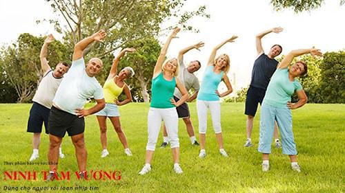 Tập thể dục đều đặn giúp người bệnh ngoại tâm thu nâng cao cao sức khỏe trái tim