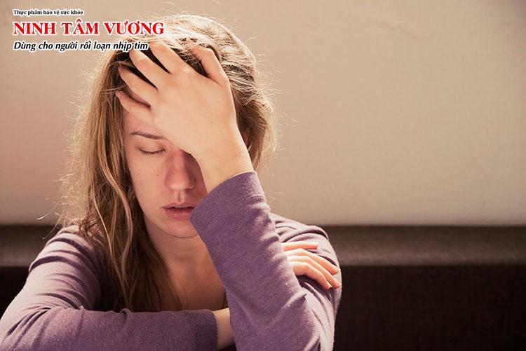 Stress, lo lắng là nguyên nhân làm xuất hiện rung nhĩ
