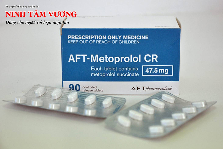 Ngoài cao huyết áp, những người bị loạn nhịp tim cũng hay được kê đơn Metoprolol
