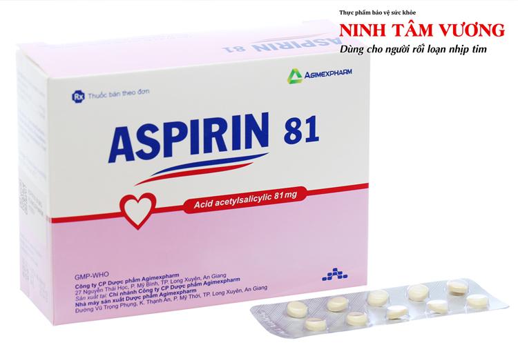 Ngoài giảm đau, Aspirin còn có tác dụng chống đông, bảo vệ tim mạch