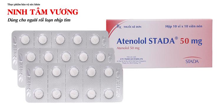 Rất nhiều người bệnh tim mạch được kê đơn thuốc Atenolol 50mg