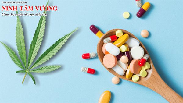 Một số loại thuốc được sử dụng để làm giảm nhịp tim