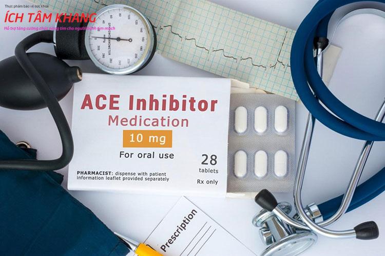 Thuốc ức chế men chuyển được kê đơn rộng rãi trong điều trị suy tim và cao huyết áp