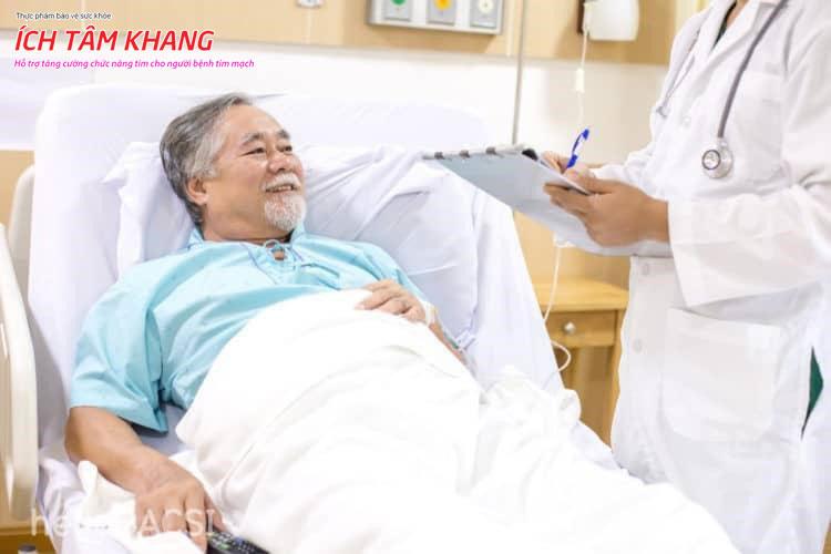 Điều trị tốt, người bệnh suy tim nặng vẫn có thể sống lâu.