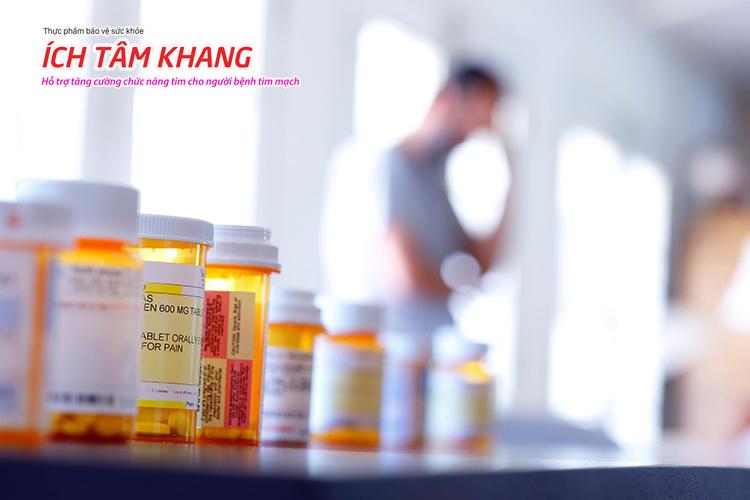 Bệnh mạch vành uống thuốc gì tuỳ thuộc vào tình trạng cụ thể