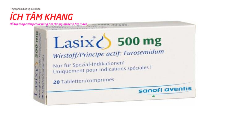 Thuốc lợi tiểu thường được bác sĩ chỉ định cho người bệnh cao huyết áp
