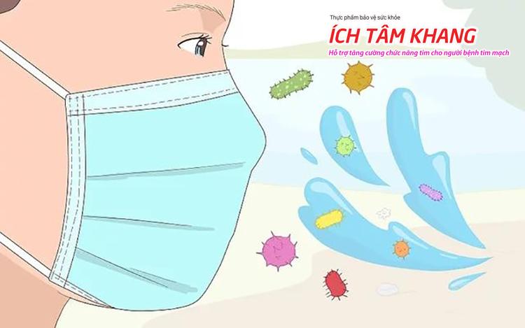Những khẩu trang y tế thông thường cũng đã có thể ngăn chặn được virus corona không gây lây nhiễm ở niêm mạc miệng