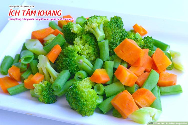 Nên lựa chọn các loại rau củ quả có màu xanh sẫm hoặc màu đỏ để tăng cường vitamin cho cơ thể giúp làm tăng khả năng miễn dịch