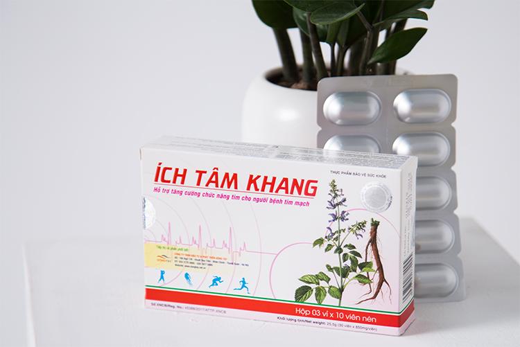 Sản phẩm Ích Tâm Khang có bán tại hầu hết các nhà thuốc lớn trên toàn quốc