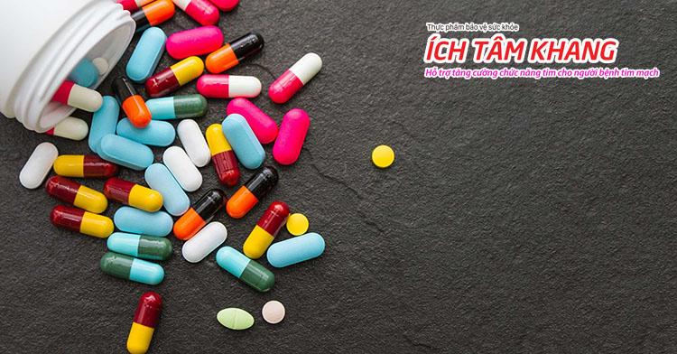 Thuốc cần thiết để khắc phục triệu chứng hở van