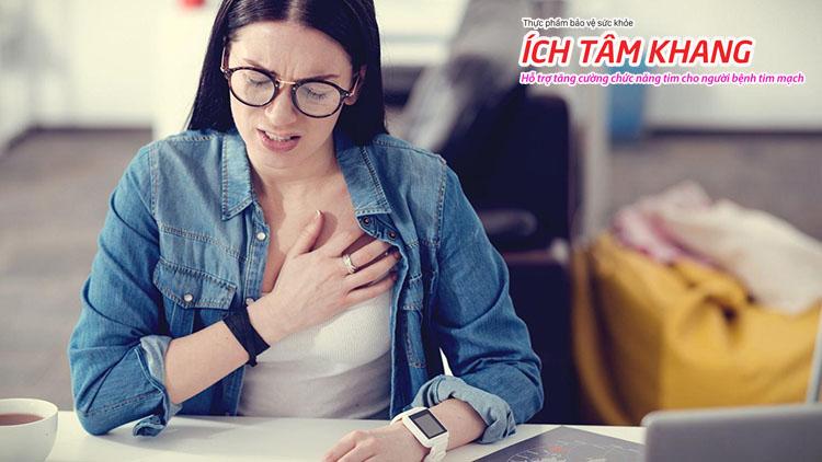 Bệnh thiếu máu cơ tim nguy hiểm và đang có xu hướng trẻ hóa