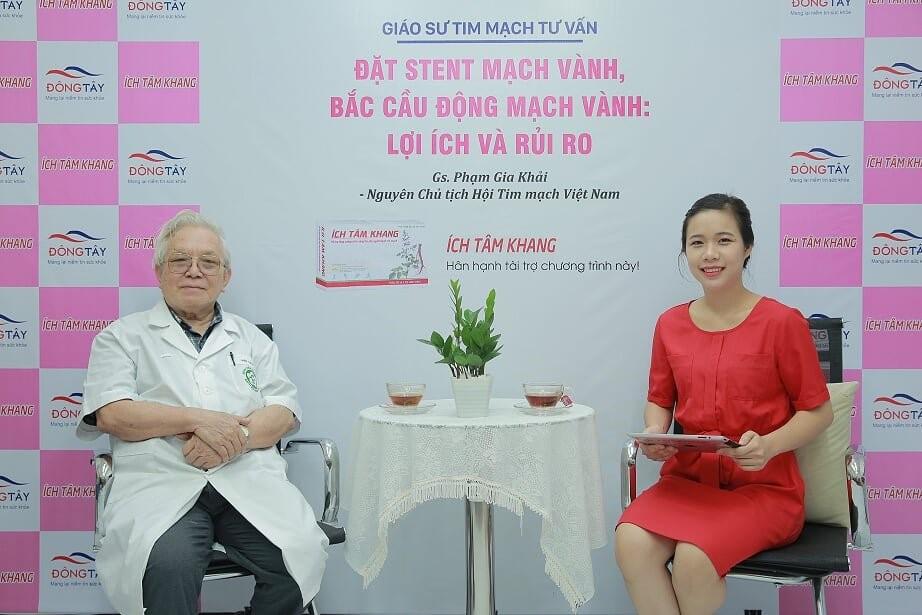 Gs. Ts Phạm Gia Khải - Nguyên Chủ tịch Hội Tim mạch Việt Nam