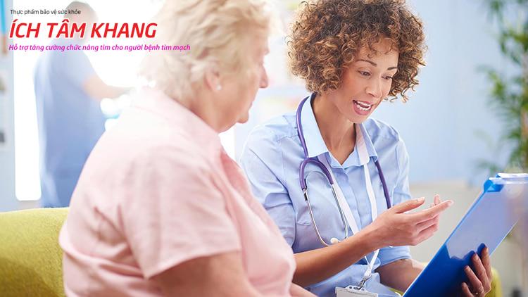 Bệnh nhân thiếu máu cơ tim cục bộ cần tuân thủ chỉ định kết hợp với điều trị tại nhà