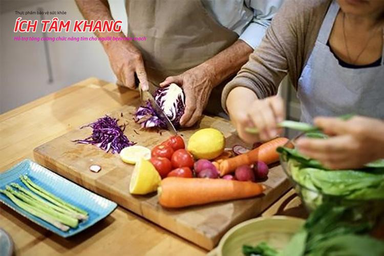 Rau củ giàu vitamin và chất xơ cần cho một trái tim khỏe