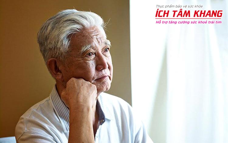 Đặc biệt lưu ý mới có thể phát hiện triệu chứng suy tim phải ở người già