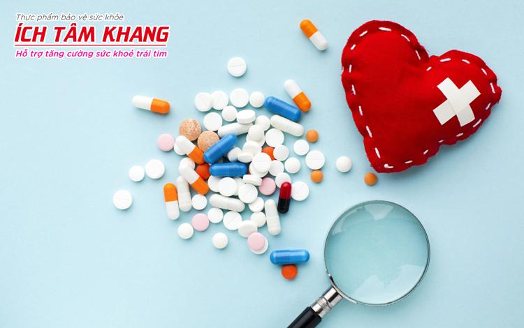 Thuốc là phương pháp không thể thiếu trong phác đồ điều trị bệnh suy tim phải