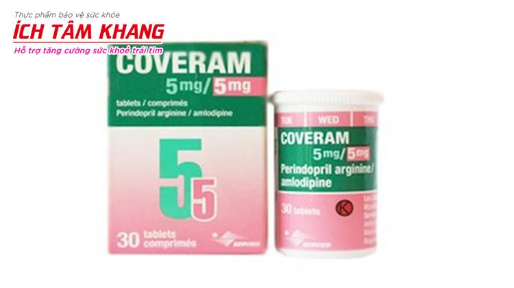 Nhiều người bệnh cao huyết áp được chỉ định dùng thuốc Coveram hàng ngày.