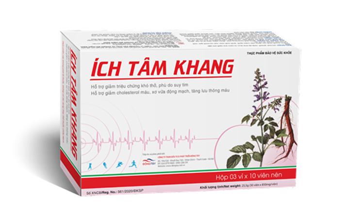 TPBVSK Ích Tâm Khang phù hợp cho người bị suy tim, người có triệu chứng tim mạch (do tăng huyết áp, xơ vữa mạch vành....)