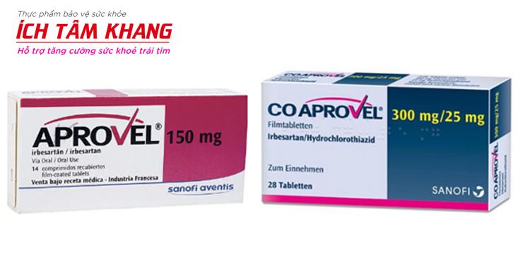 Aprovel và Co - Aprovel là thuốc điều trị tăng huyết áp được sử dụng phổ biến