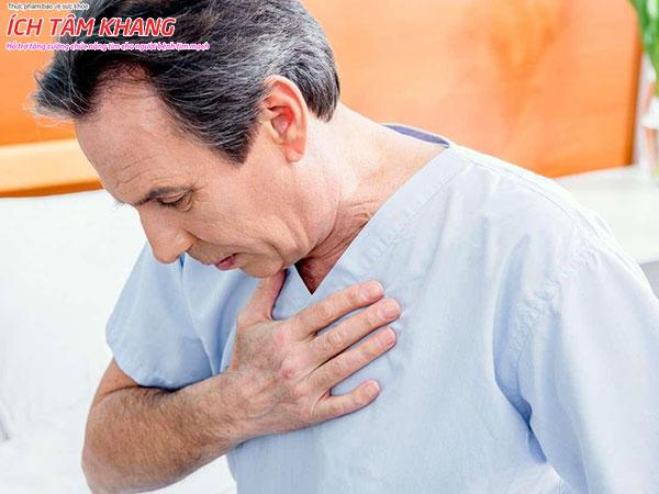 Khó thở, mệt mỏi xuất hiện nhiều nhất ở suy tim giai đoạn cuối