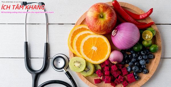 Thói quen ăn uống lành mạnh cần thiết cho sức khỏe tim mạch nói chung