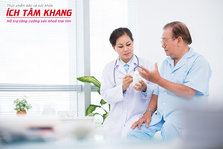 Hãy báo cho bác sĩ nếu bạn nghi ngờ bản thân đang gặp tác dụng phụ của Panangin