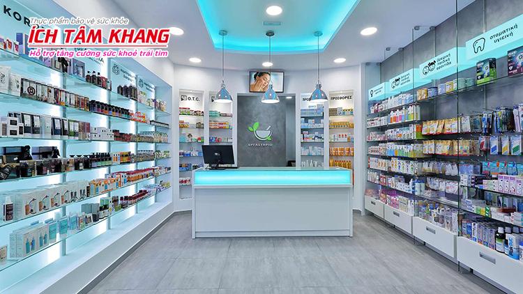 TPBVSKÍch Tâm Khang được bán ở nhiều nhà thuốc