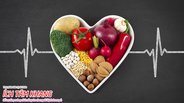 Bệnh mạch vành nên ăn gì giúp ngăn ngừa tiến triển