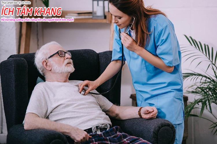 Bệnh suy tim ở người già ít được chẩn đoán ở cấp độ 2