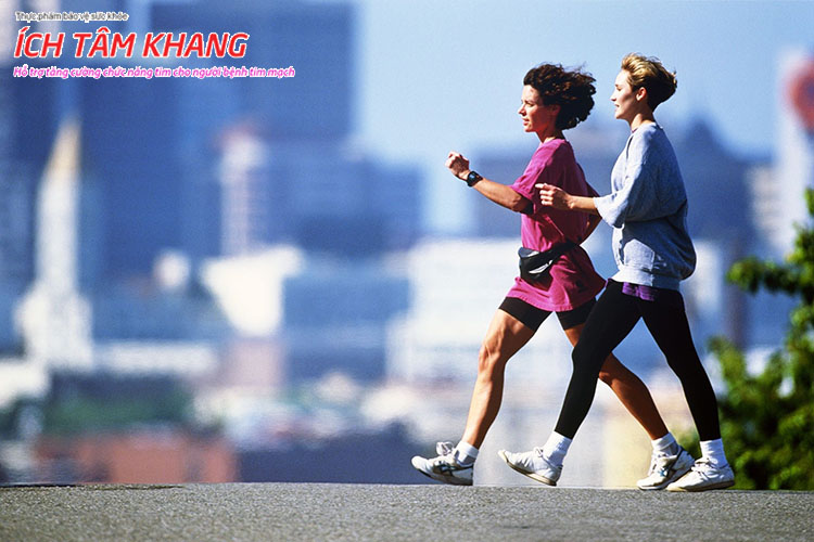Đi bộ nhanh là cách giúp người bệnh thiếu máu cơ tim phát triển tuần hoàn bàng hệ tim, ngừa biến chứng nhồi máu cơ tim