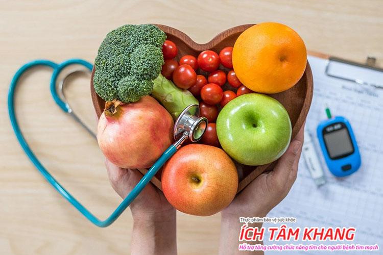 Thiếu máu cơ tim cục bộ nên và không nên ăn gì, uống gì quan trọng không kém thuốc