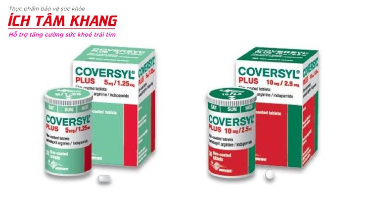 Tự ý gấp đôi liều Coversyl có thể gây tụt huyết áp nguy hiểm.