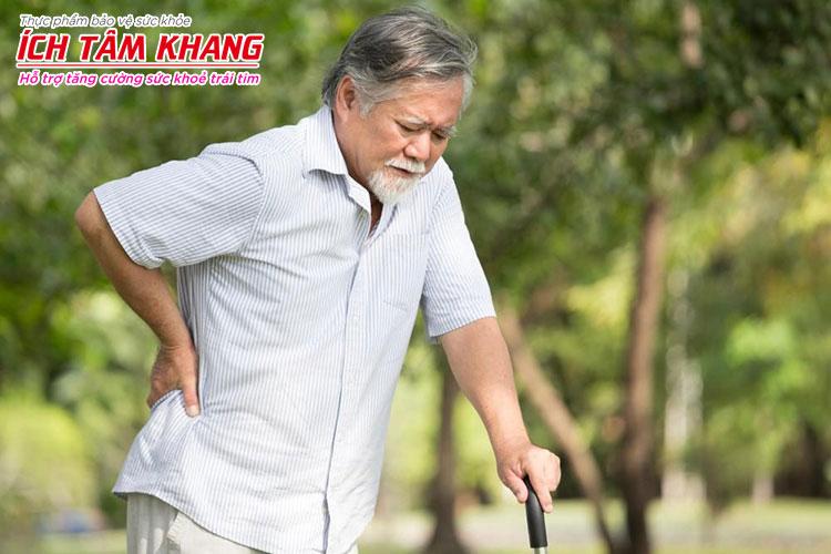 Đau lưng, đau cơ là một tác dụng phụ cần lưu ý khi sử dụng Atorvastatin (Lipitor)