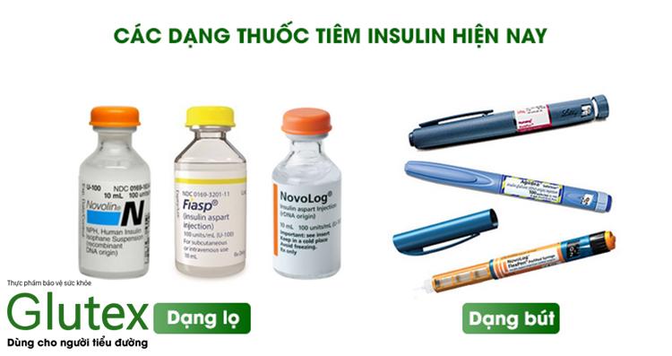 Thuốc tiêm insulin là loại thiết yếu trong điều trị tiểu đường