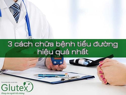 Mục tiêu chữa bệnh tiểu đường là cần giảm và ổn định đường huyết để ngăn chặn biến chứng tiểu đường