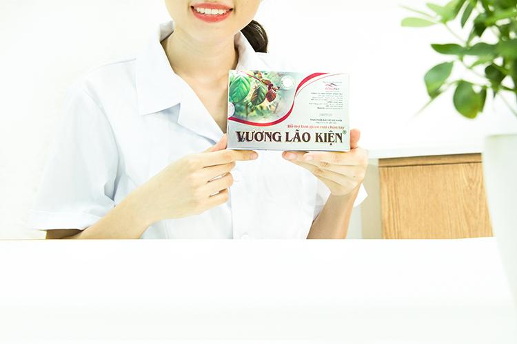 TPCN Vương Lão Kiện - hỗ trợ giúp giảm run tay chân do nhiều nguyên nhân