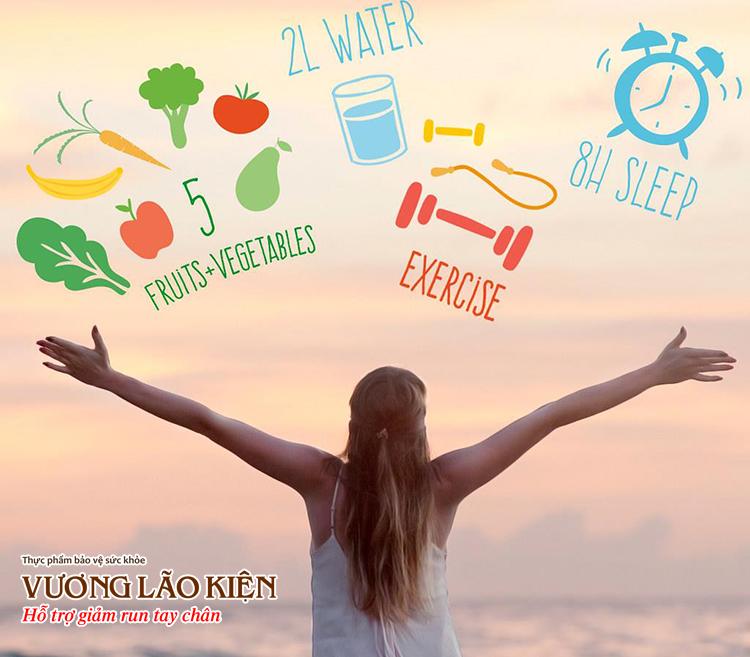 Sống lành mạnh là cách tốt nhất giúp giảm triệu chứng rối loạn thần kinh thực vật