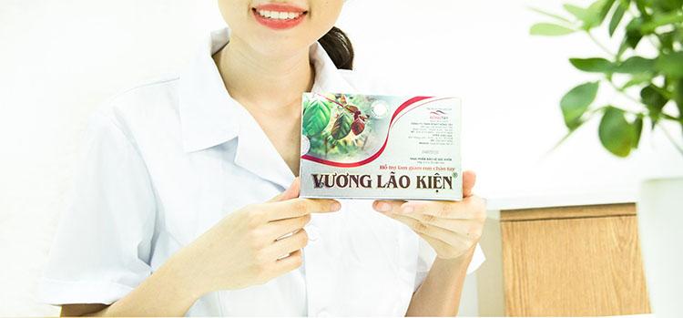 Thực phẩm bảo vệ sức khỏe Vương Lão Kiện giúp hỗ trợ làm giảm run tay chân