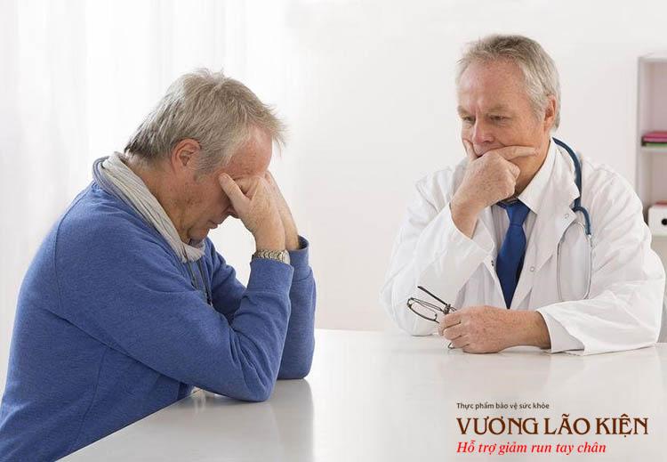 Trầm cảm làm nặng thêm các triệu chứng khác của người bệnh Parkinson