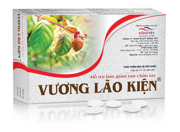 Thực phẩm bảo vệ sức khỏe Vương Lão Kiện giúp hỗ trợ giảm run chân tay