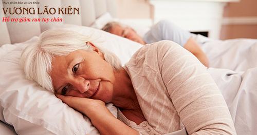 Có tới 70% người bệnh Parkinson bị khó ngủ, mộng du, mất ngủ