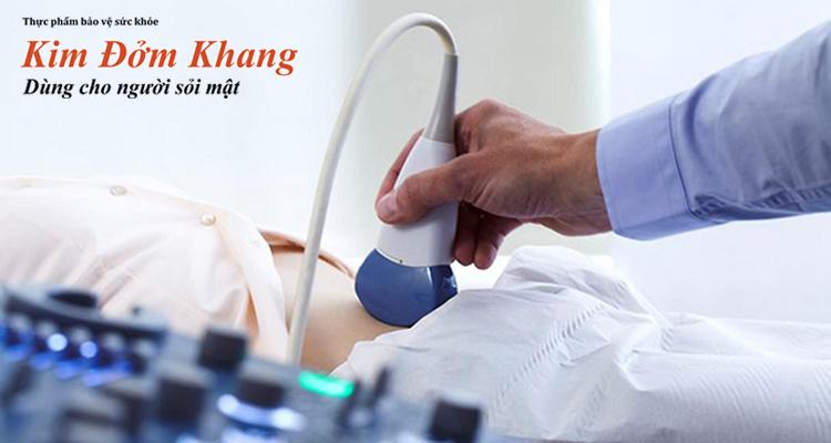 Siêu âm là phương pháp thường dùng trong chẩn đoán polyp túi mật