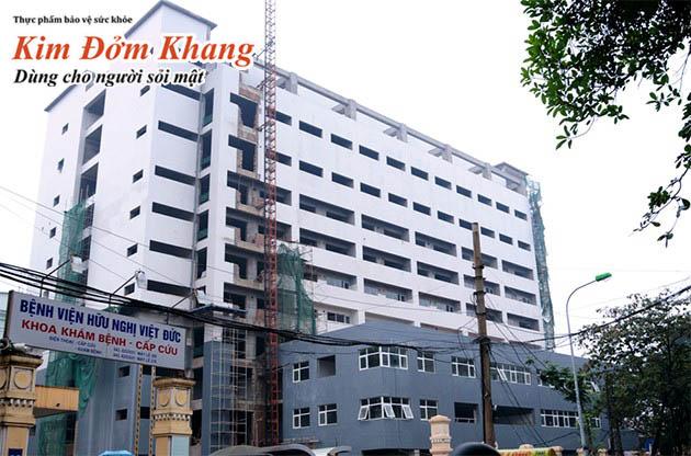 Bệnh viện Hữu Nghị Việt Đức - địa chỉ được nhiều người bệnh lựa chọn mổ sỏi mật