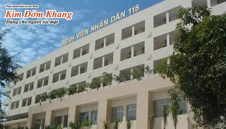Bệnh viện Nhân dân 115 - địa chỉ khám chữa bệnh tin cậy khu vực miền Nam