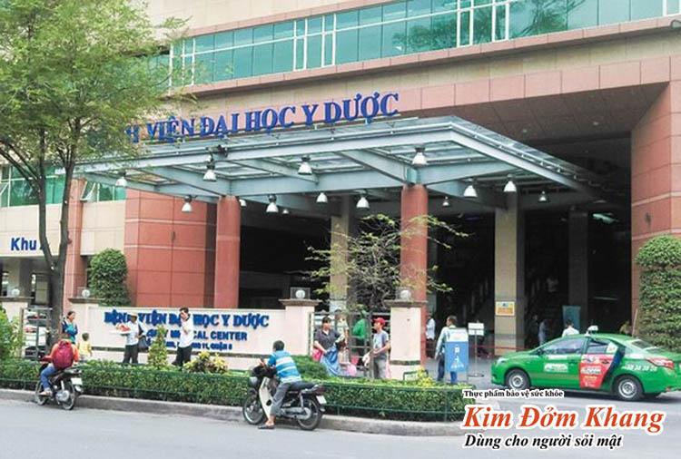 Bệnh viện Đại học Y dược Tp HCM cũng là một trong những địa chỉ khám chữa bệnh đường tiêu hóa được nhiều người tin tưởng